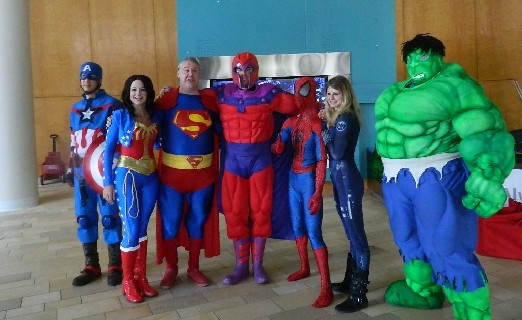 Superheroes avenge illness – Jagwire