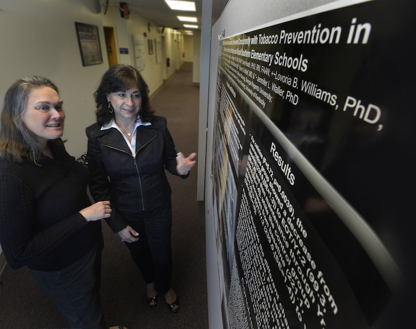 photo from article New principal investigator takes charge to stamp out smoking in our community