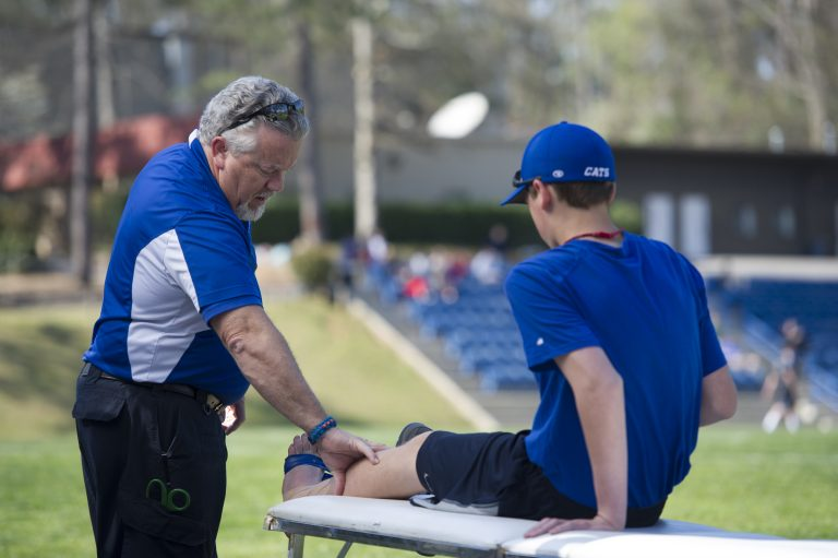 photo from article Volunteers needed for free sports physicals event