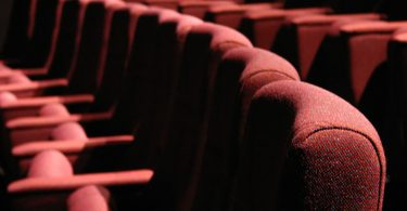 Theater interior auditorium seats