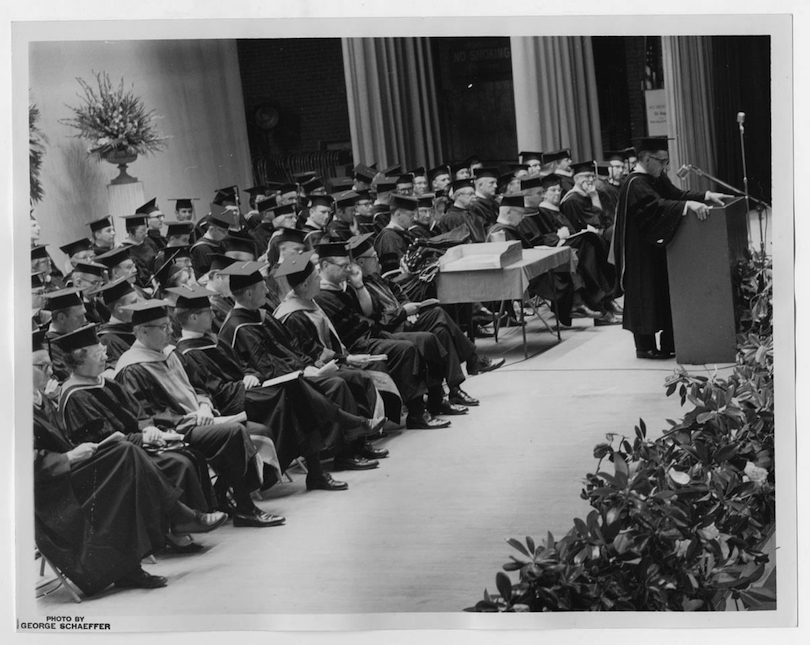 Augusta University Commencement 1971 Faculty