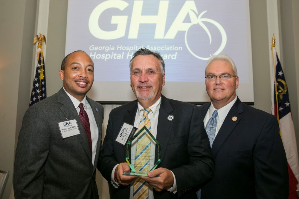 Chaplain Flowers named a GHA Hospital Hero