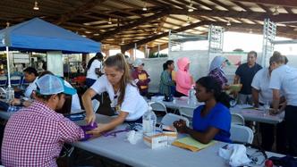 Costa Layman Health Fair 2018
