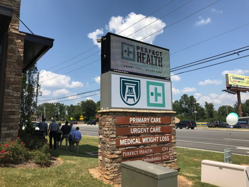 Perfect Day For Care Center Opening Jagwire