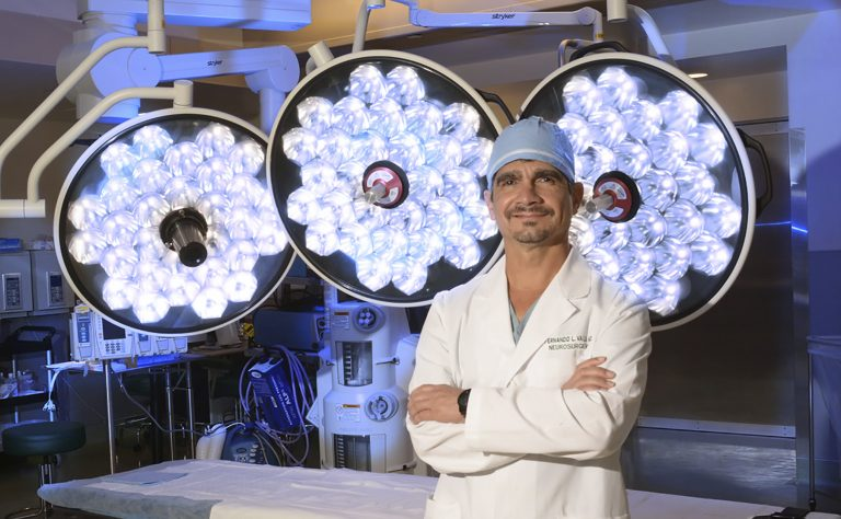photo from article Vale selected as MCG Neurosurgery Chair