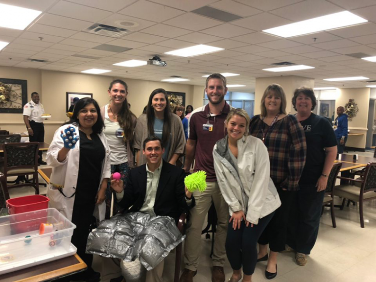 AU Occupational Therapy students provide sensory kits + Read on Jagwire