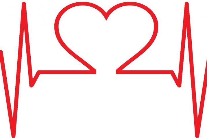 heart symbol inside cardiogram