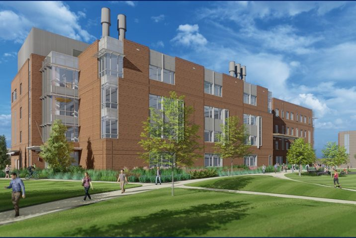 Color rendering of new college