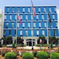 exterior of nursing home building