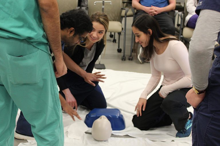 photo from article Medical students bring lifesaving initiative to Augusta