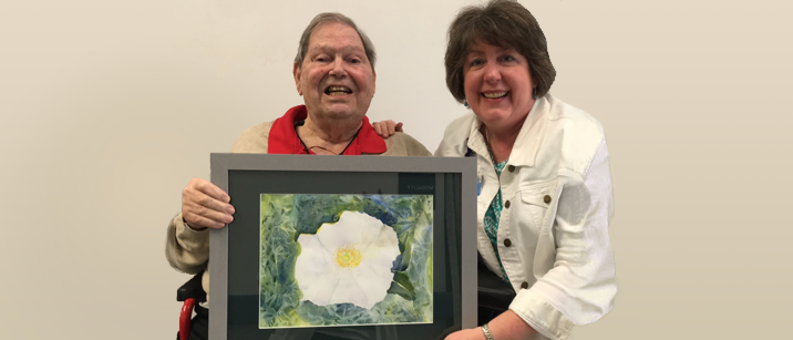 photo from article Former chair donates art to the Department of Anesthesiology and Perioperative Medicine