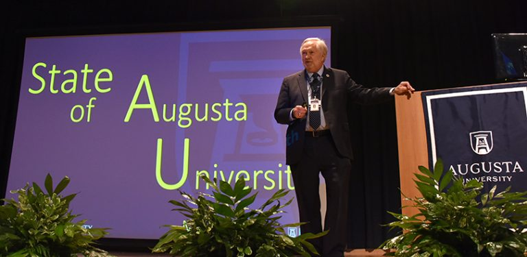 Keel sets a focus on the future at this year's State of the University address