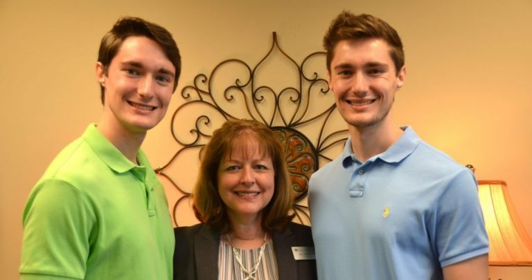 A dual celebration for Dr. Judi Wilson and her sons