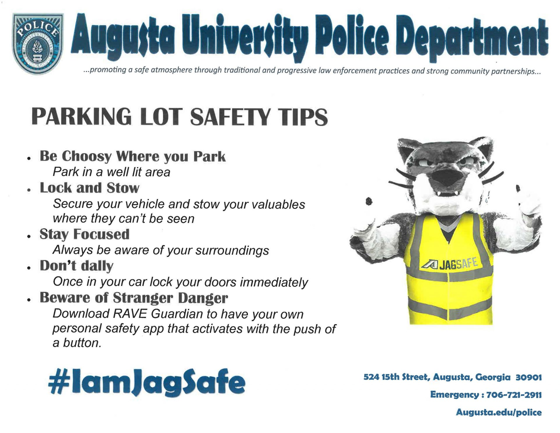 Protect yourself and others with these safety tips – Jagwire
