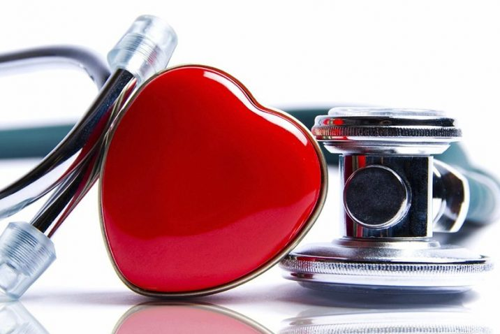 A picture of a heart and stethoscope.