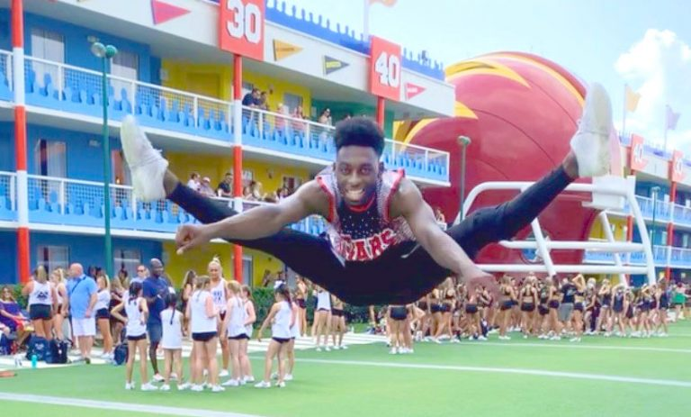 photo from article Cartilage transplant surgery 'a huge win' for competitive cheerleader