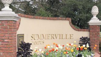 Summerville Campus brick sign