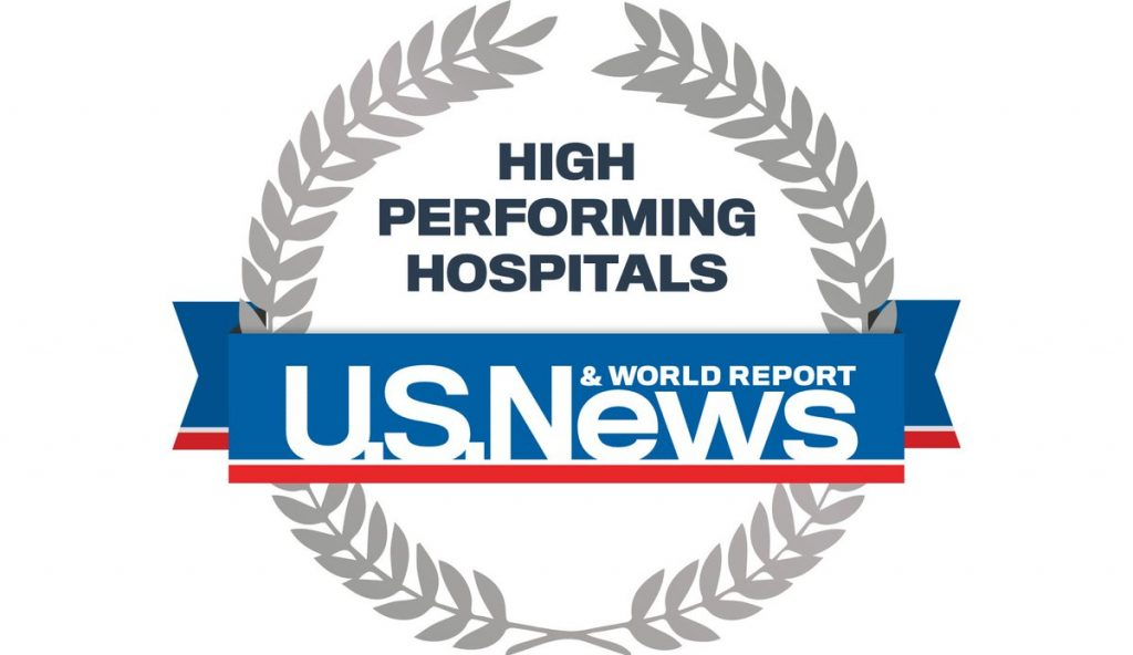 U.S. News High Performing Hospitals logo