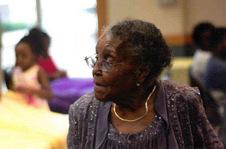 photo from article Augusta woman's vision renewed at age 102