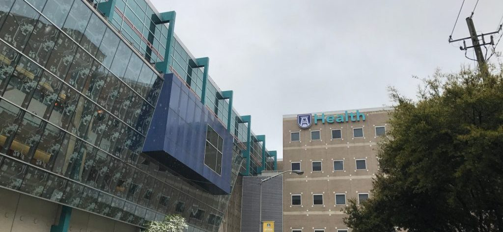 Front of the Augusta University Medical Center.