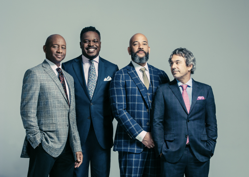 Branford Marsalis and his band.