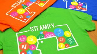 STEAMIFY T-shirts