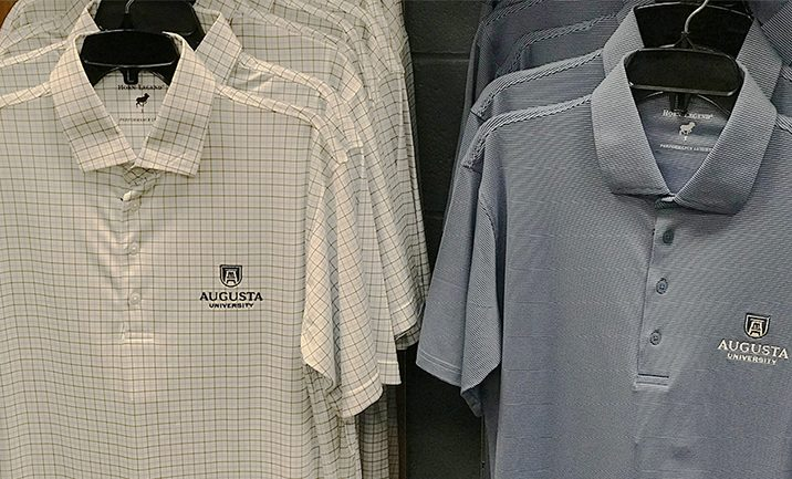 Augusta University golf shirts