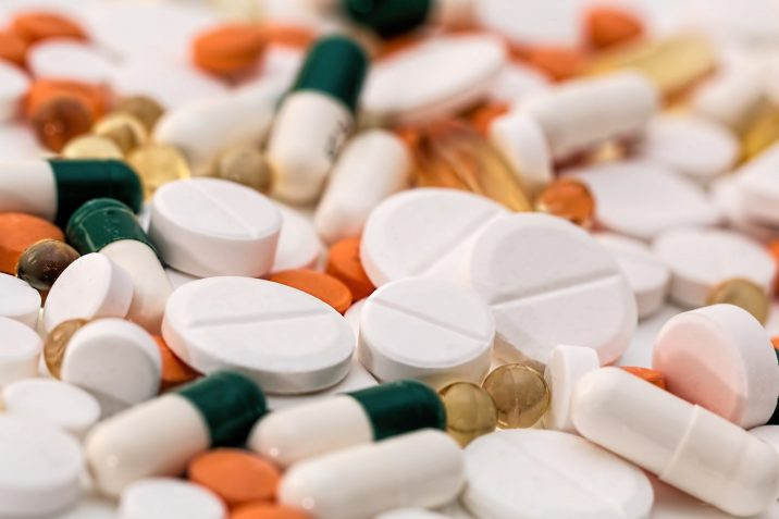 A pile of pills