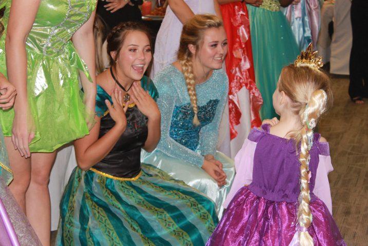 princesses and girl