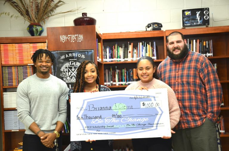 photo from article Augusta University student Randy LaMons and former classmate help future college freshmen with new scholarship