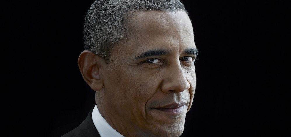 A photo of former President Barack Obama.