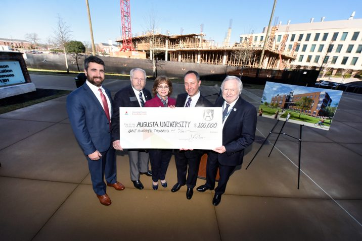 photo from article Augusta University's College of Science and Mathematics receives $100,000 donation