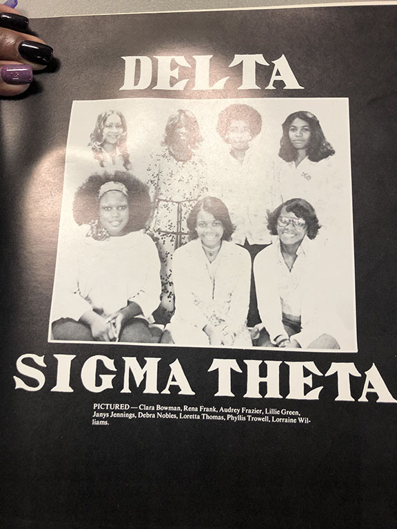 old photo of delta sigma theta