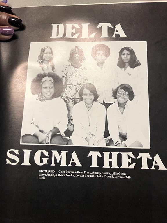 old photo of delta sigma theta