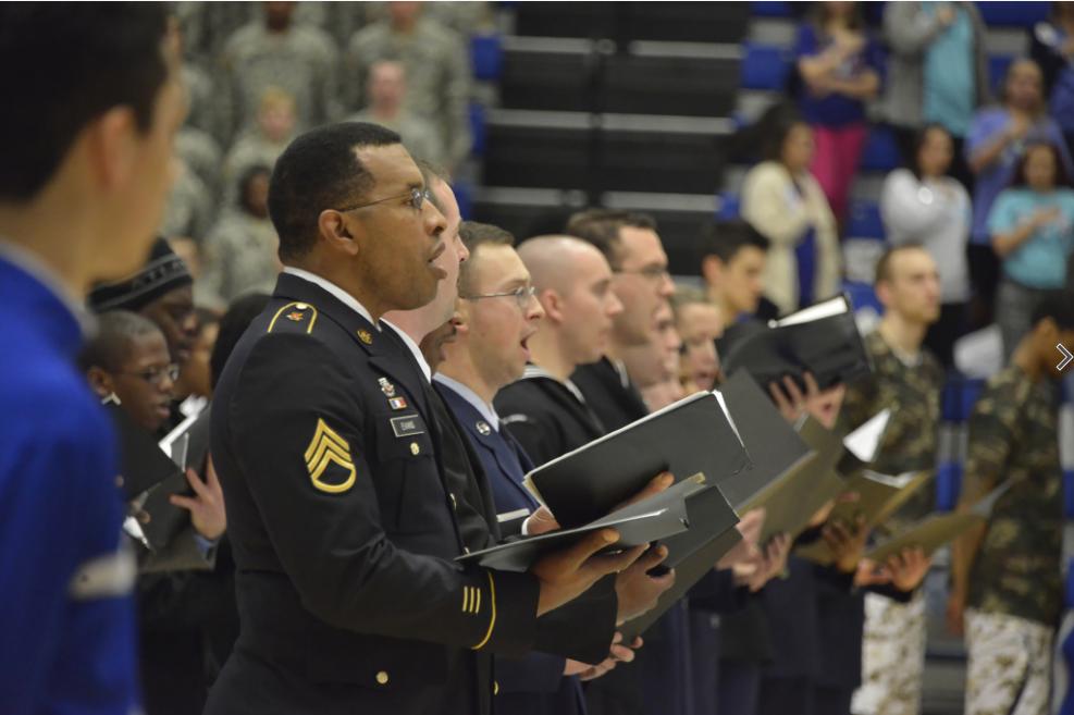military singing