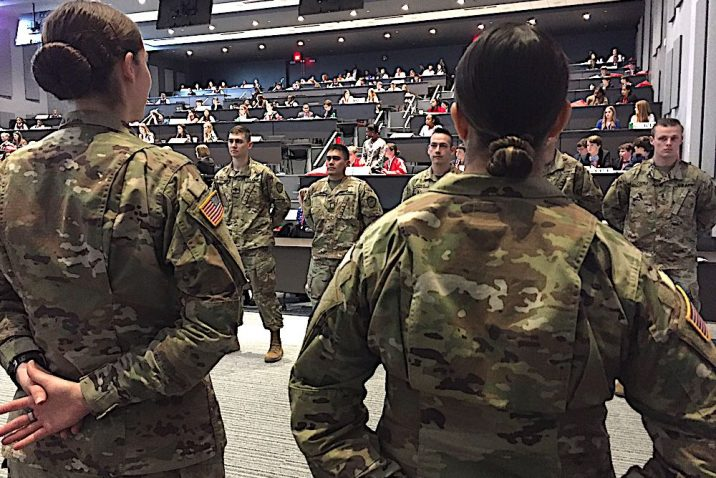 Soldiers from Fort Gordon.