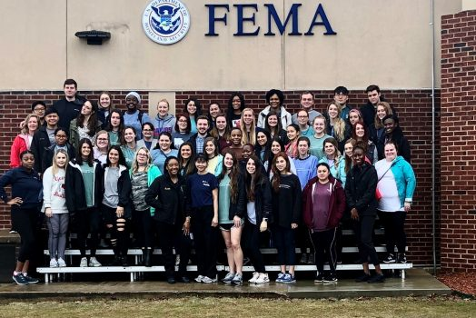 BSN students attend mass casualty training in Alabama