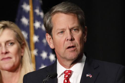 governor Brian Kemp
