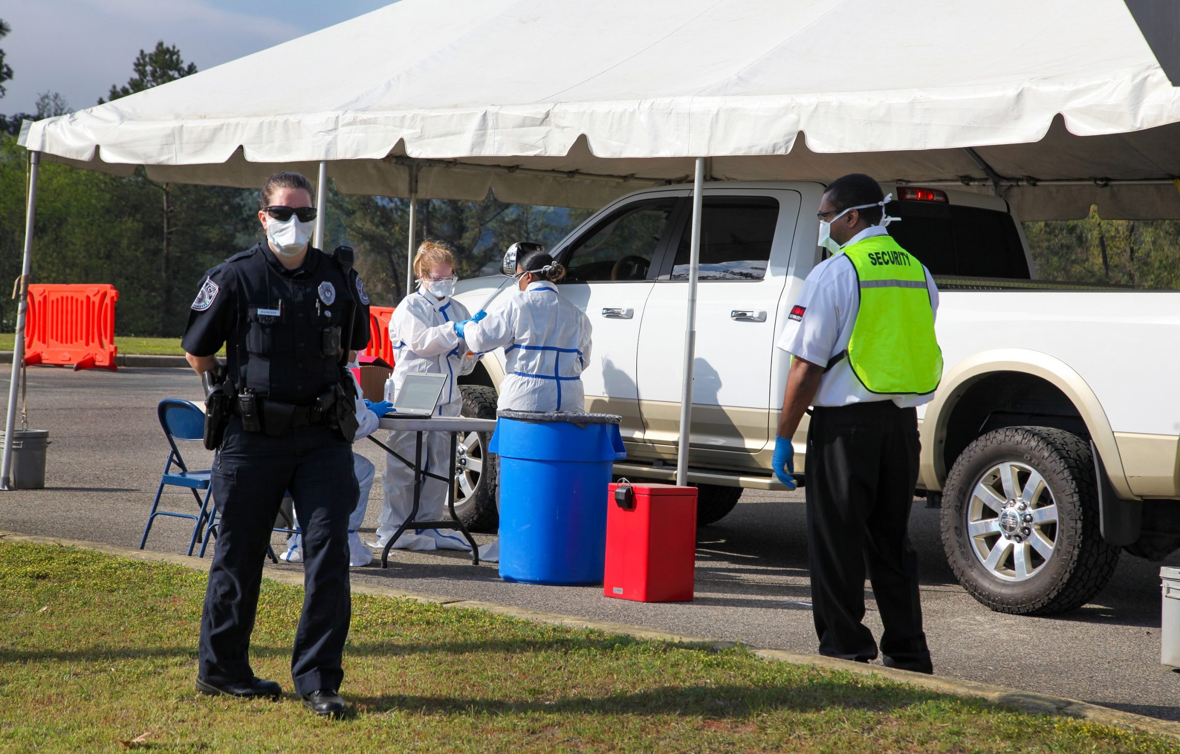 Augusta University Health opens COVID-19 drive-thru testing clinic