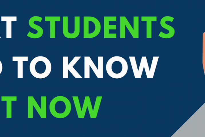 What Students need to know right now graphic