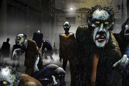 Zombie drawings