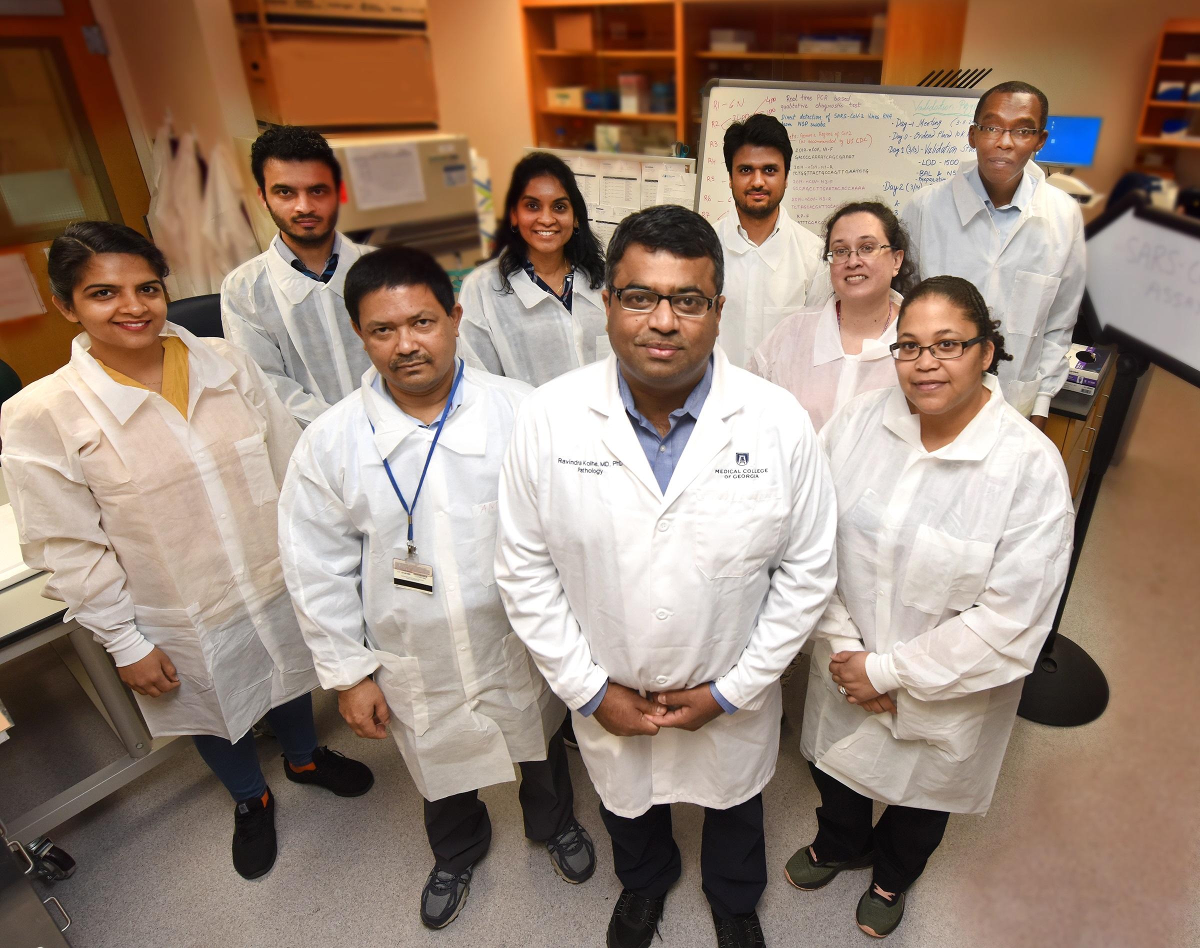 MCG's GEM Lab offering coronavirus testing statewide