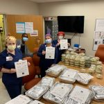 In photos: Donations of meals, snacks continue to roll in for providers at AU Health