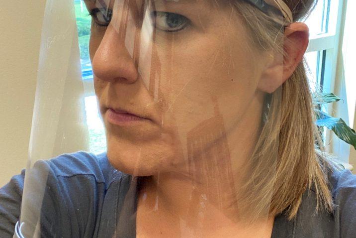 3D Face Shields