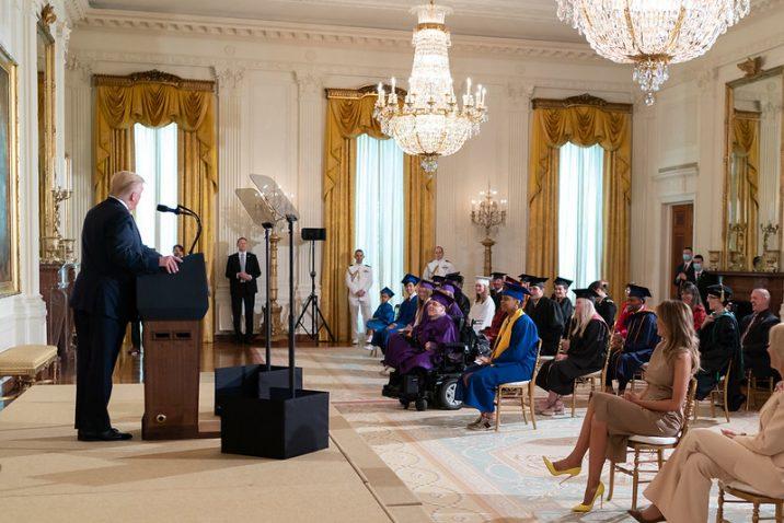 White House graduation