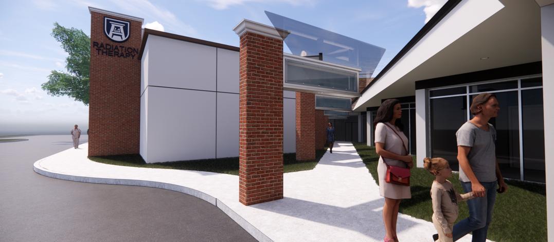 artist rendering of building front