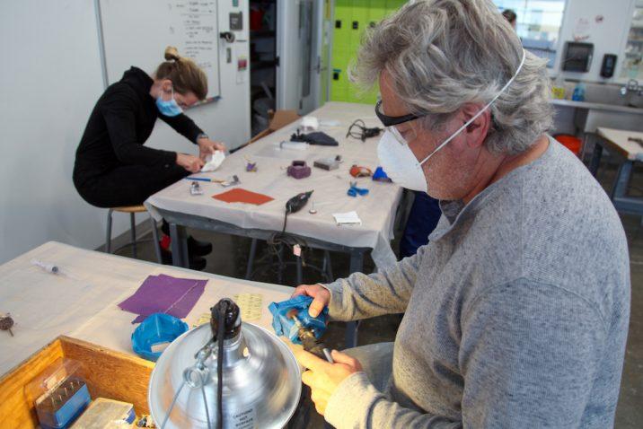people making things