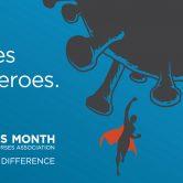 Nurse are heroes flyer