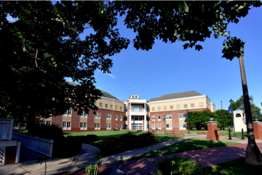 photo of a campus building