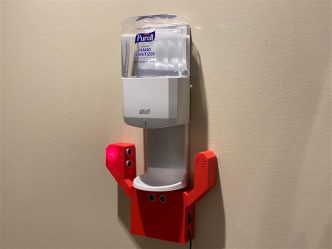 Hand sanitation device